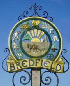Bredfield Village Sign (designed by Victoria King)